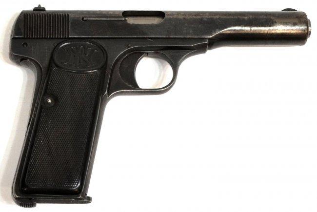 14 fn belgium browning model 1922 nazi marked pistol lot 14