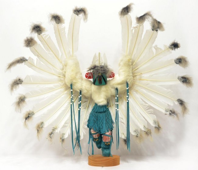 large southwest native american kachina doll lot 325