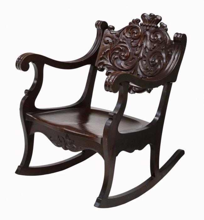 mahogany rocking chair Quotes