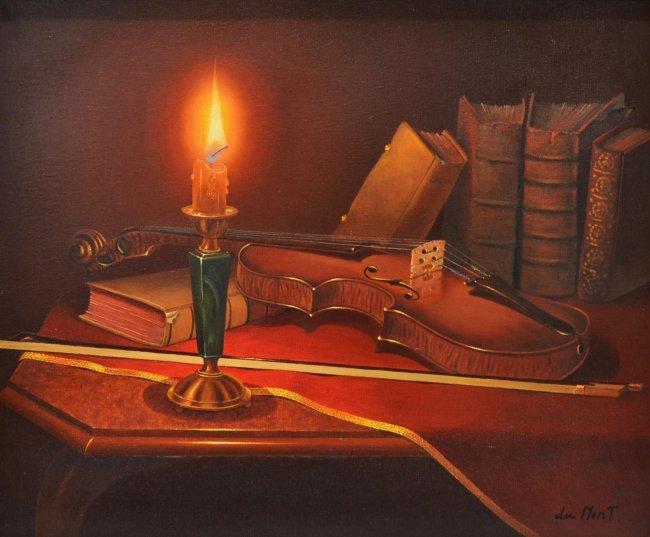 Viktoria Maltuch Oil Painting