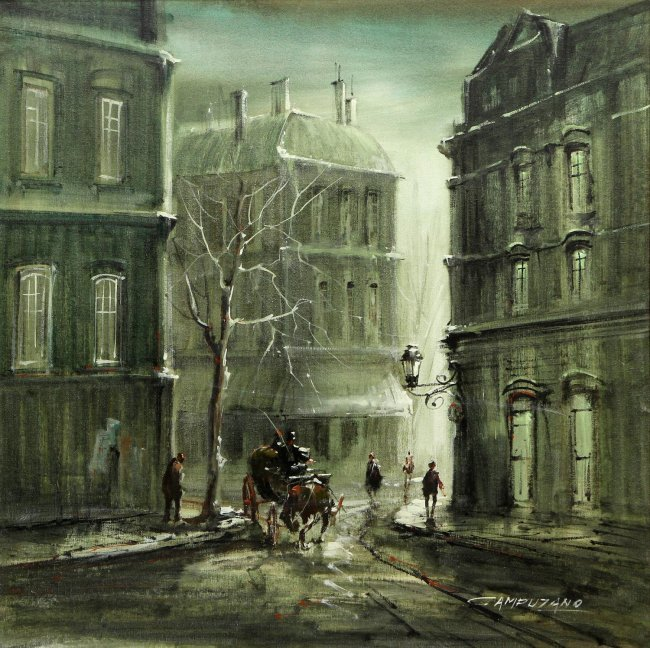 Jose Luis Campuzano Oil Painting
