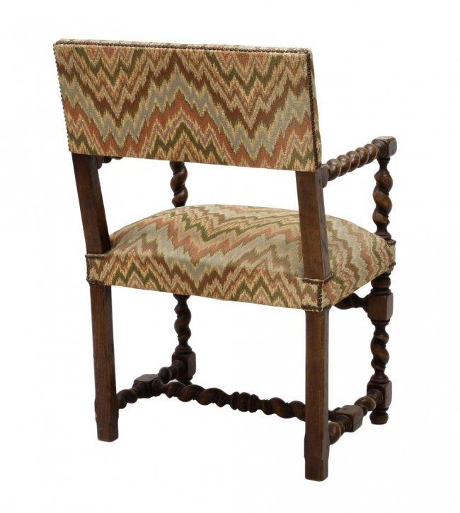 2 Barley Twist Arm Chairs Lot 571