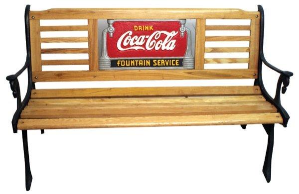 246 Coca Cola Park Bench Lot 246