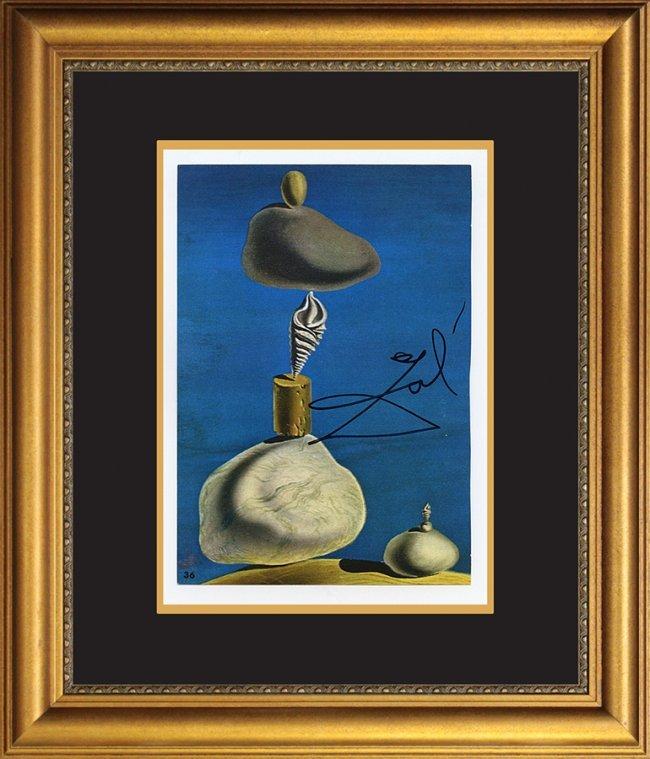 Salvador Dali Hand Signed Lithograph : Lot 229