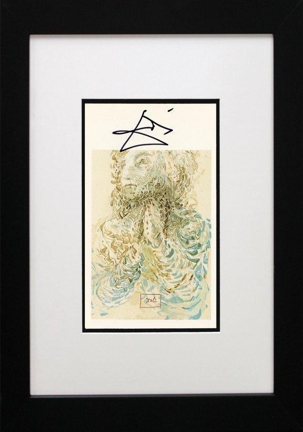Salvador Dali Hand Signed Lithograph : Lot 11