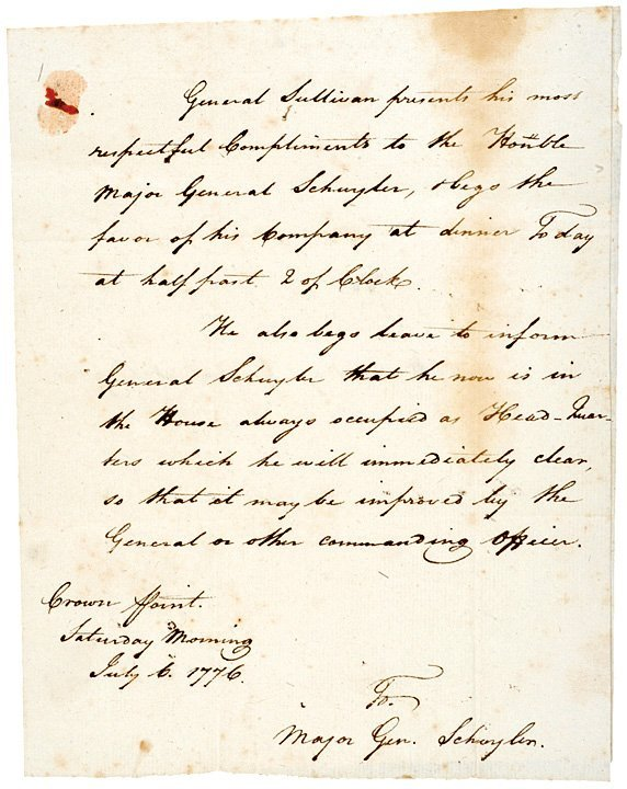 revolutionary war letter Letter from a revolutionary war soldier (1776) from alden t vaughn, ed, chronicles of the american revolution (new york: grosset & dunlap, 1965) originally compiled by hezekiah niles and.