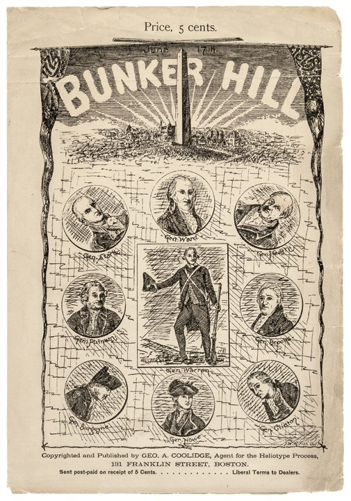 Bunker Hill Exhibit | Letter from Lt. John Waller to a Friend ...