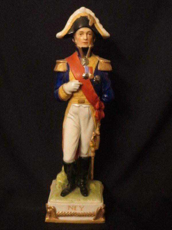 porcelain figure of napoleonic soldier marshal ney lot 77. Black Bedroom Furniture Sets. Home Design Ideas