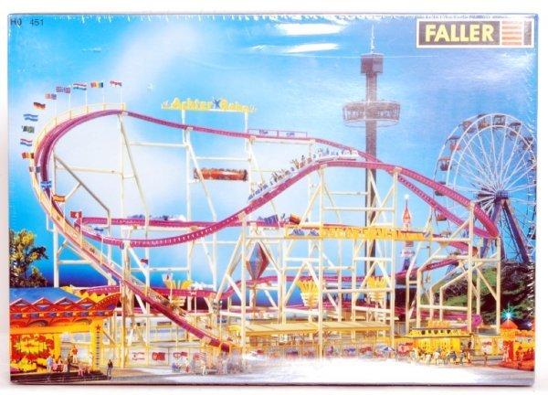 75 faller ho scale big dipper roller coaster kit 451 lot 75