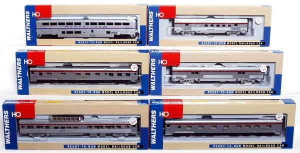Walthers vintage passenger cars