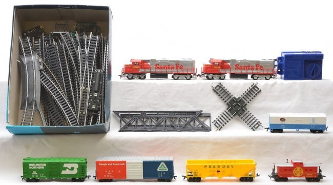 """Life-Like """"City Express"""" 2 Train Set w/ Elevated Track ...  