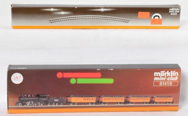 Marklin z scale train sets