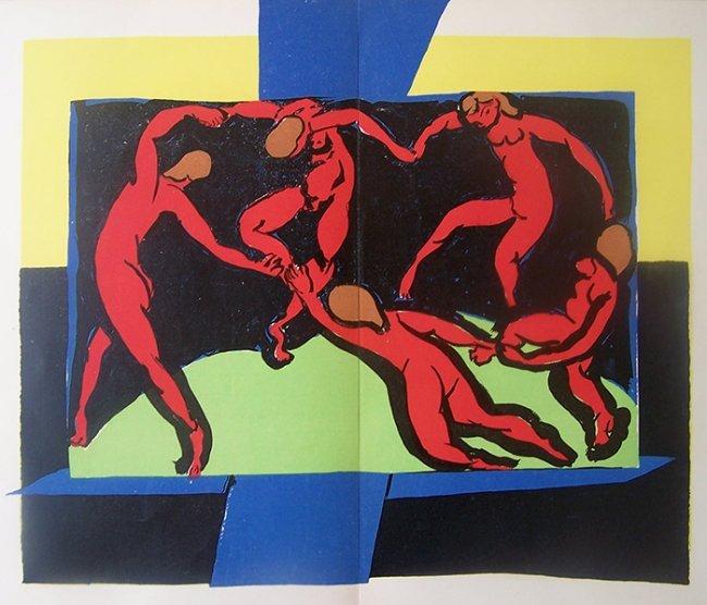 henri matisse 1939 lithograph la danse lot 233. Black Bedroom Furniture Sets. Home Design Ideas