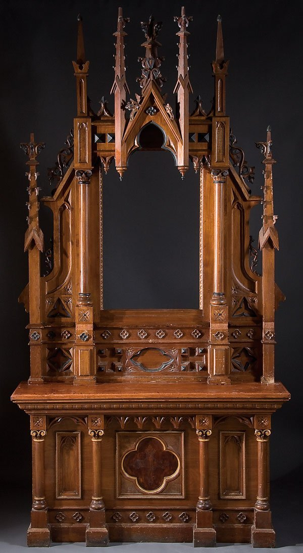 Gothic Revival Furniture Reproductions Church Furniture .
