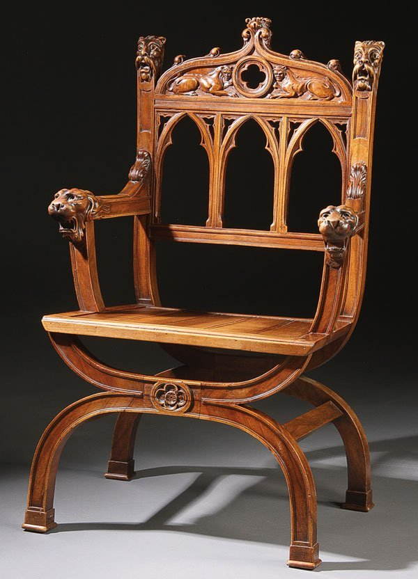 Gothic revival furniture images
