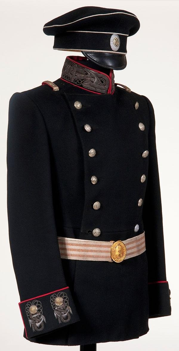 92: IMPERIAL RUSSIAN NAVY OFFICER UNIFORM GROUP
