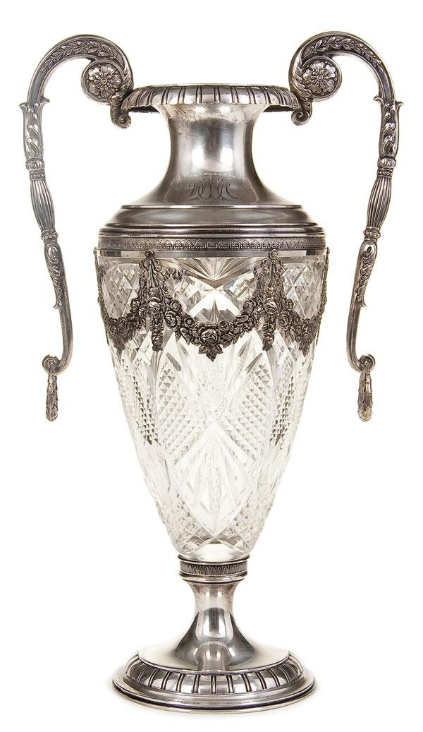 silver and glass vases vases sale