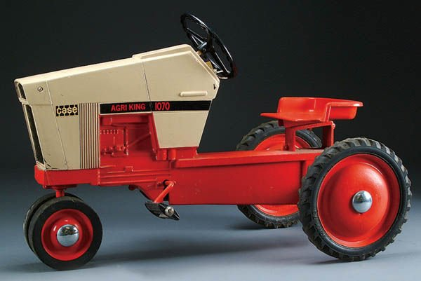 Case Pedal Tractors : A case model agri king pedal tractor circa lot