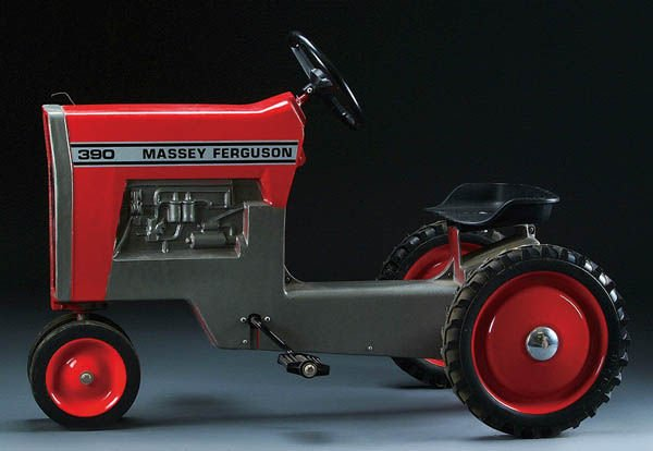Ferguson Pedal Tractor : A massey ferguson model pedal tractor circa lot