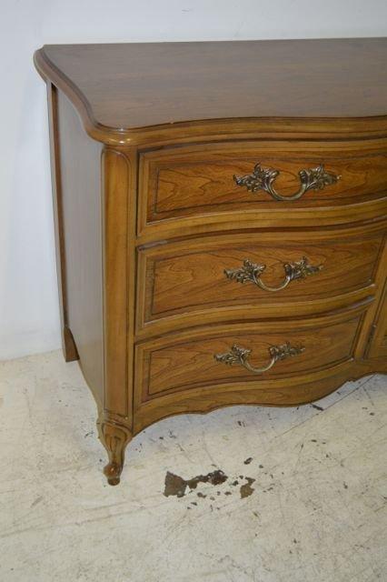 Vintage Dixie Furniture Provincial Triple Dresser Lot 63