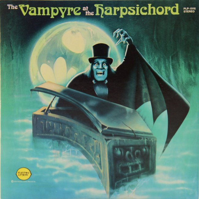 Verne Langdon The Vampyre At The Harpsichord