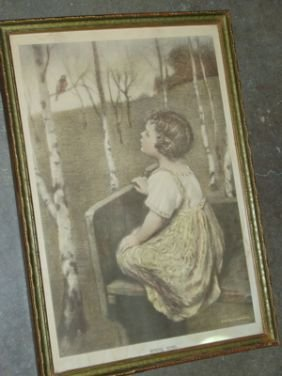 523 Reinthal Amp Newman Ny Spring Song Painting Lot 523