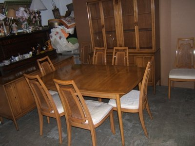 Drexel Dining On Drexel Meridian Dining Room Set 1962 Lot 882