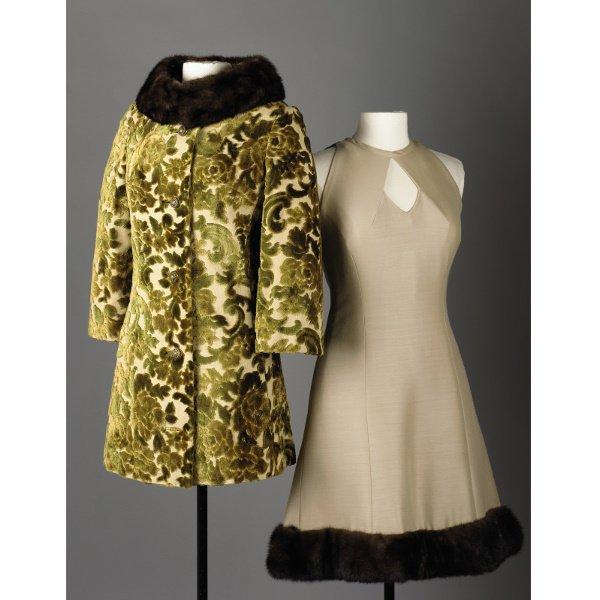 102: June Carter Cash Dress and CISELE VELVET CAR COAT ... June Carter Dress