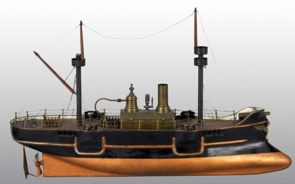 2503: Radiguet Live Steam Boat Toy. : Lot 2503
