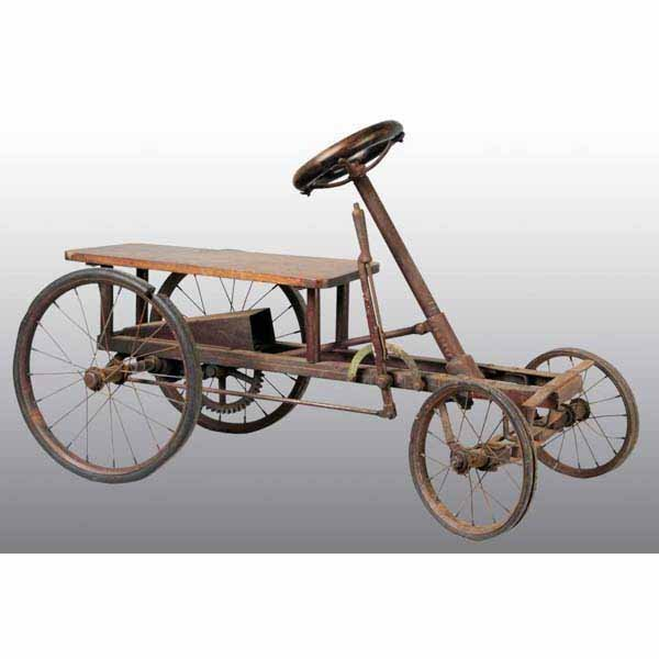 Wood Pedal Car : Moved permanently