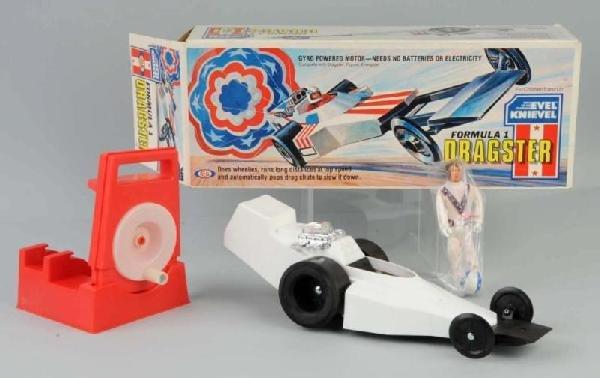 482 ideal evel knievel formula 1 dragster toy lot 482. Black Bedroom Furniture Sets. Home Design Ideas