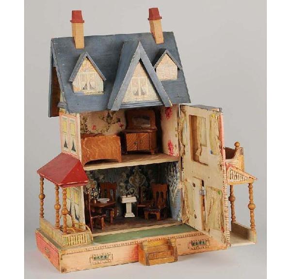 Bliss Dollhouse Wallpaper: 72: Bliss Doll House. : Lot 72