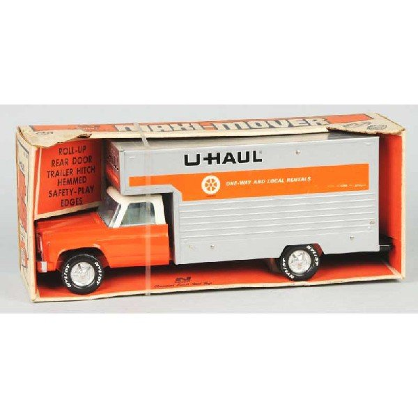 Toy Trucks: U-haul Metal Toy Trucks