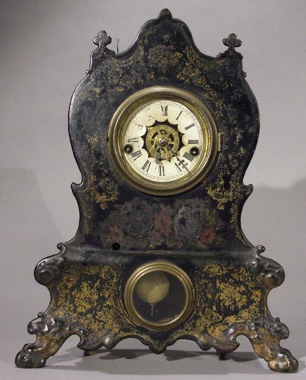 Waterbury Iron Front Clock With Alarm Antique Clocks Price