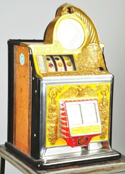Roll a top slot machine