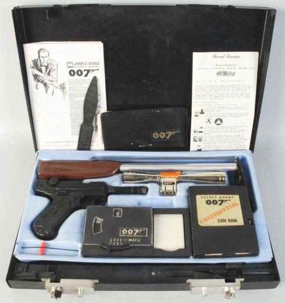 james bond 007 secret agent attach u00e9 case    lot 212