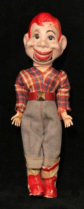 howdy doody mini ventriloquist doll lot 313