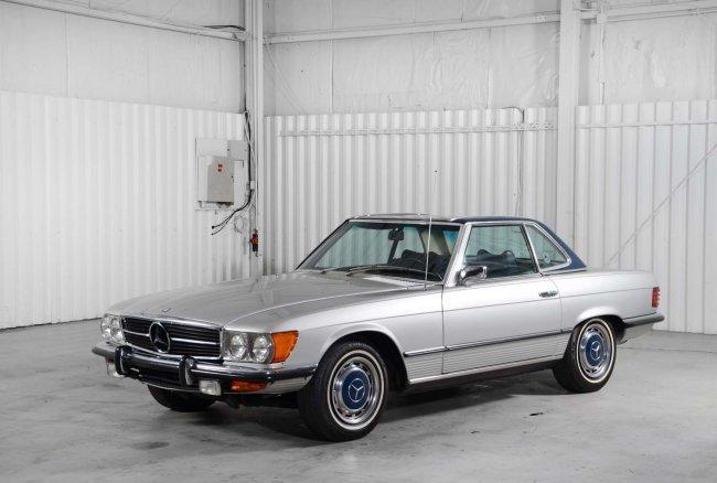 1972 mercedes benz 350 sl lot 18 for 1972 mercedes benz 350 sl