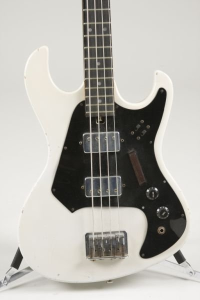 2137 Vintage Harmony Electric Bass Guitar Lot 2137