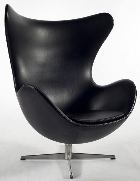 406 arne jacobsen original egg chair lot 406. Black Bedroom Furniture Sets. Home Design Ideas