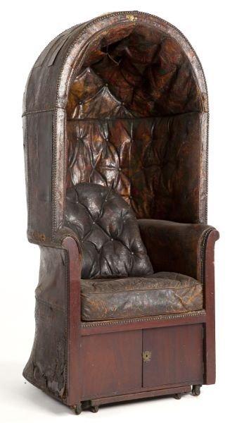 George iii porter s chair