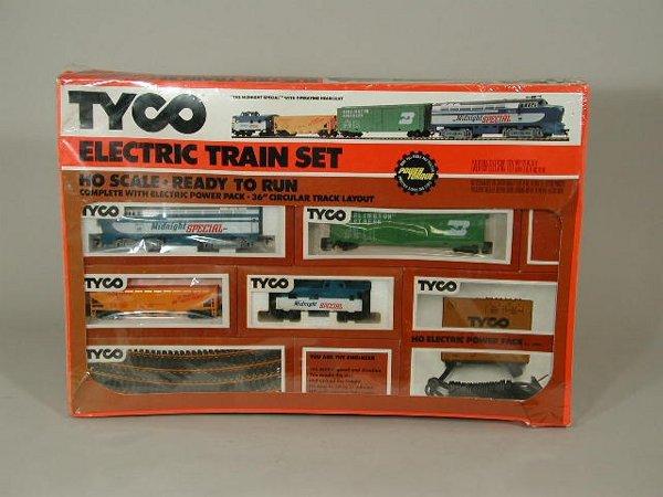 Tyco train set santa fe