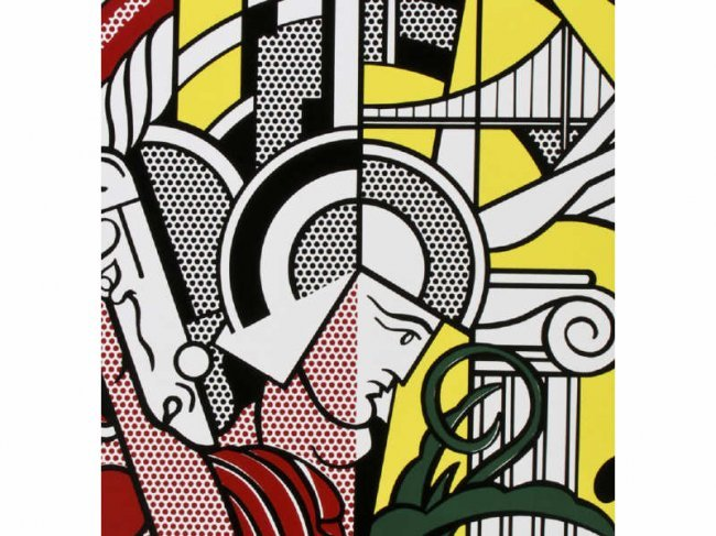 Roy lichtenstein 1969 guggenheim new york poster lot 197 for Poster roy lichtenstein