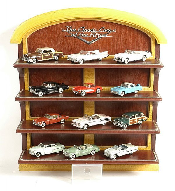 421: Franklin Mint Classic Cars Of The 50s : Lot 421