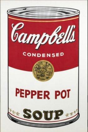 andy warhol pepper pot campbell s soup i f s lot 83. Black Bedroom Furniture Sets. Home Design Ideas
