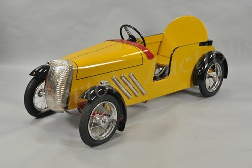 Wood Pedal Car : Wood pedal car kits complete body chassis