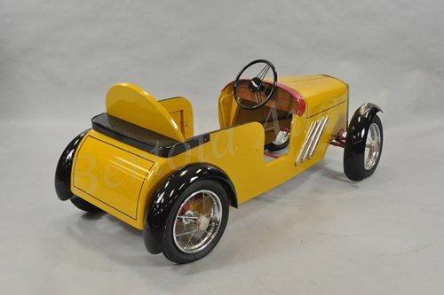 Wood Pedal Car : Wood tri ang pedal car racer lot