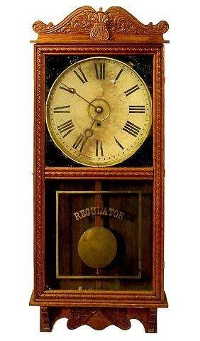 2316 Gilbert Observatory Wall Regulator Clock Lot 2316