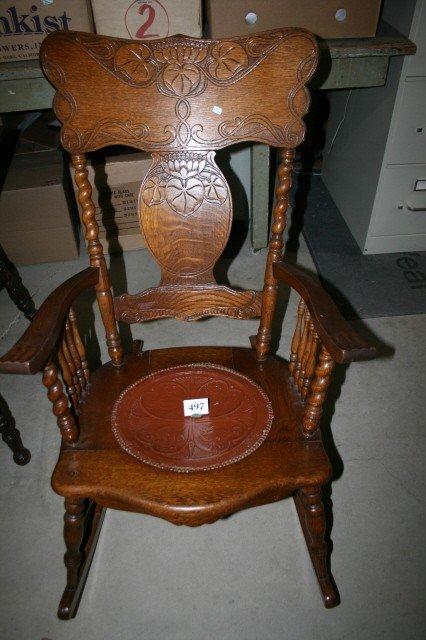 Leather Rocking Chair Cushion Chair Pads Amp Cushions