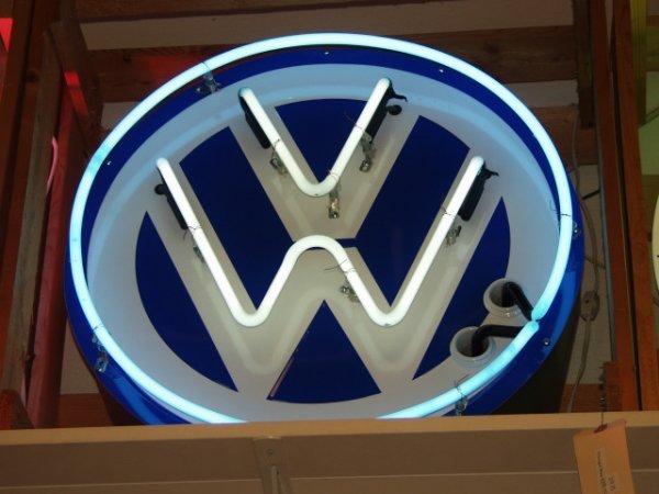 29 Neon Vw Sign Quot Volkswagen Quot Large Lot 29